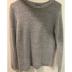Super soft grey knit sweater